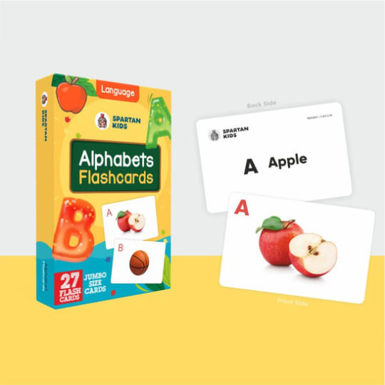 Alphabets jumbo flash cards