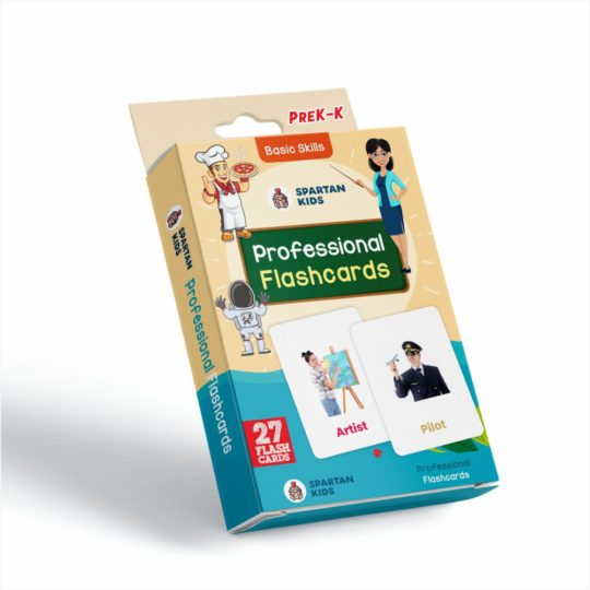 Spartan Kids professional flash cards