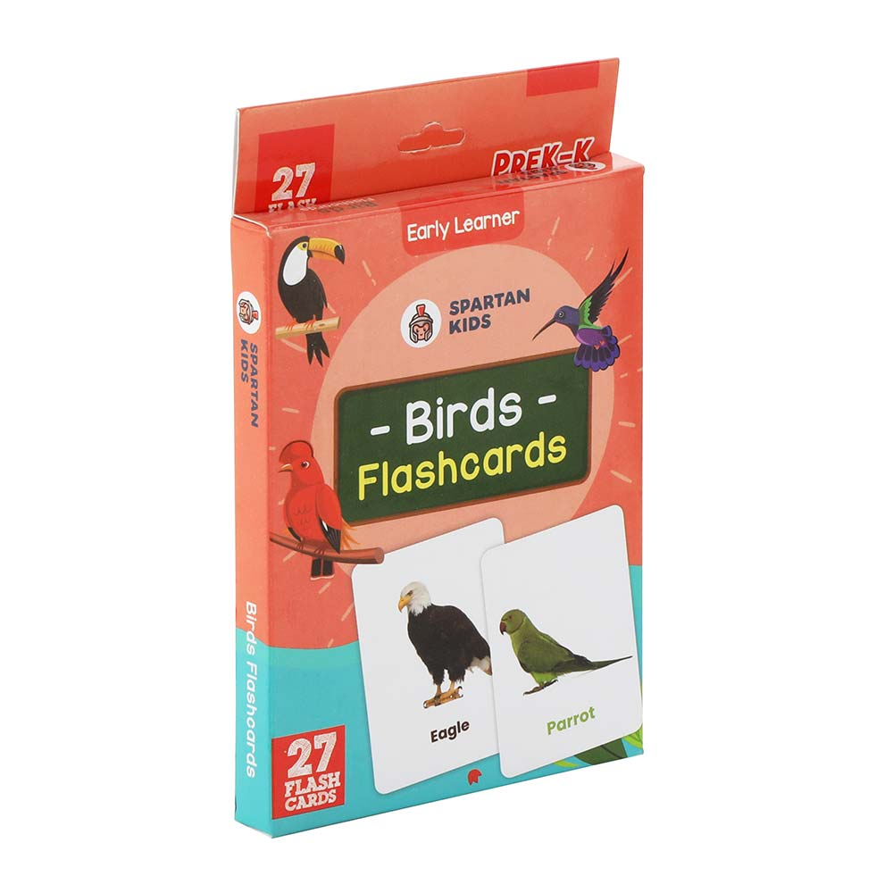 bird flash cards for kids