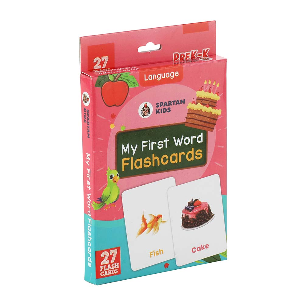 my first word flash cards for kids
