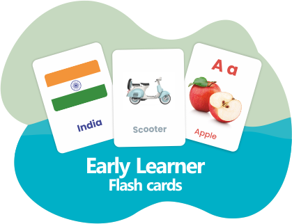 Learn flash cards for kids